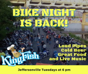 On The Rocks Bike Night! @ KingFish Jeffersonville | Jeffersonville | Indiana | United States